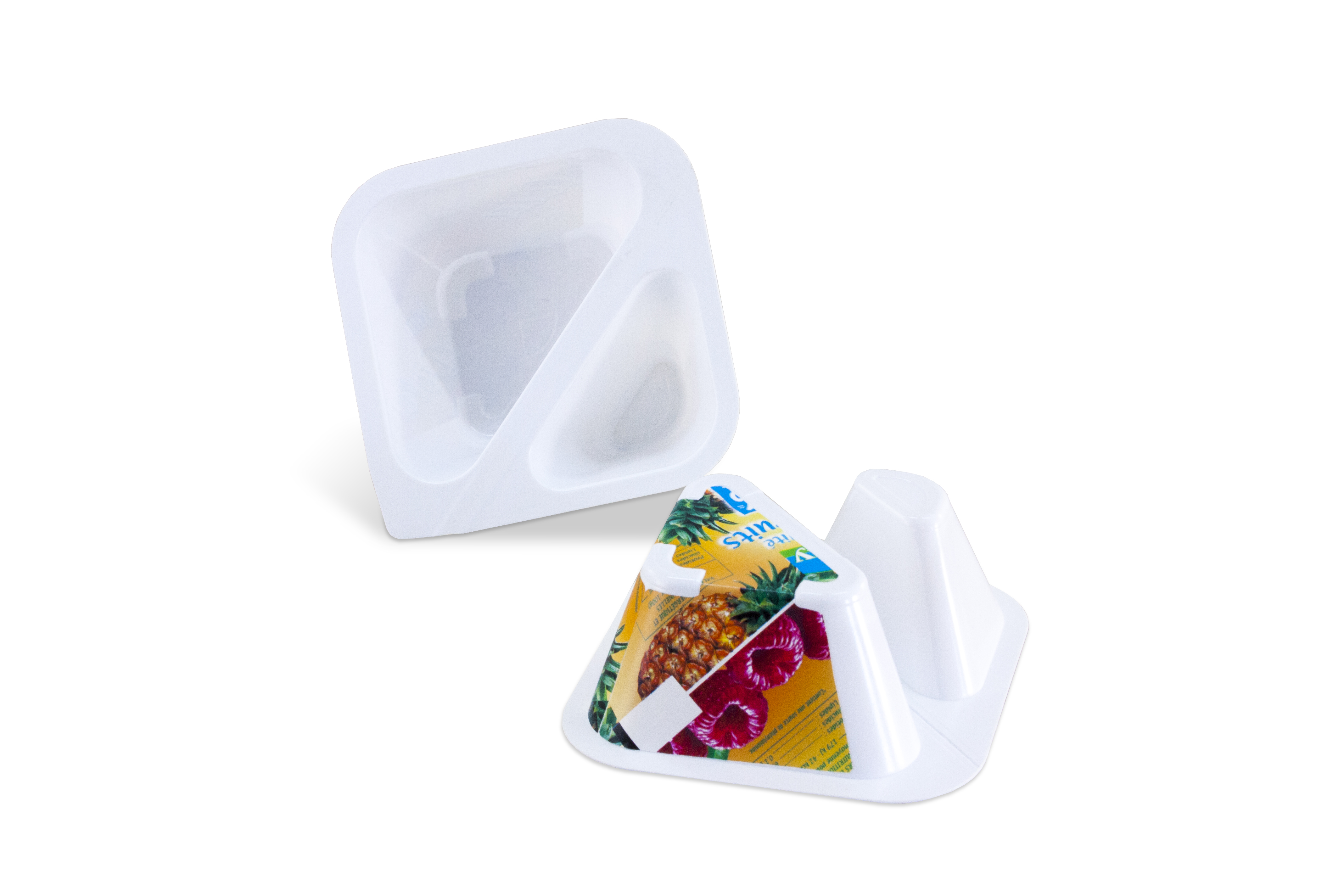 Split cup - 2 compartments